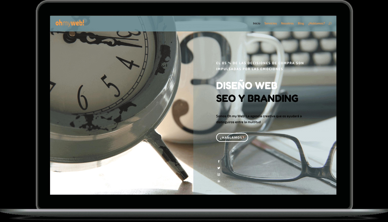 Oh my Web! Agencia de diseño web en Madrid